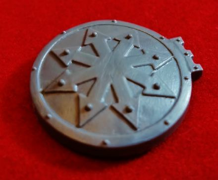 Chaos Space Marine Vehicle Hatch 8 Pointed Star symbol x1